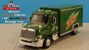 100 Menards Truck Gold Line Collection MTN DEW Beverage Diecast Review