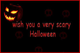 Scary Halloween Wishes Wallpaper Of