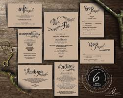 199 Best Wedding Invitation Images On Pinterest Pdf Rustic Invitations