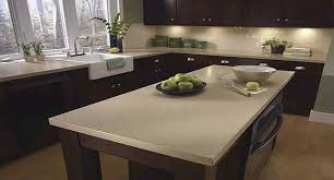 Kitchens With Dark Cabinets And Light Countertops by Light Quartz Countertop With Dark Cabinets Kitchens Pinterest