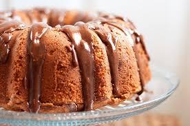erdnussbutter bananen pfund kuchen mit nutella glasur
