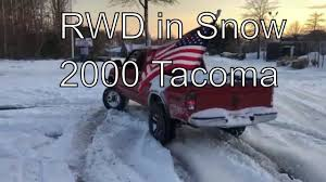 Toyota Tacoma Prerunner (2WD) 2000 Vs Snow - YouTube 4wd Vs 2wd In The Snow With Toyota 4runner Youtube Tacoma 2018 New Ford F150 Xlt Supercrew 65 Box Truck Crew Cab Nissan Pathfinder On 2wd 4wd Its Not Too Early To Be Thking About Snow Chains Adventure Chevy Owning The 2010 Used Access V6 Automatic Prerunner At Mash 2015 Proves Its Worth While Winter Offroading Driving Fothunderbirdnet 2002 Ranger Green 2 Wheel Drive Bed Xl Supercab Extended Truck Series Supercab Landers Serving