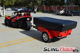 Motorcycle Polaris Slingshot Camper Trailer By Bunkhouse Trailers