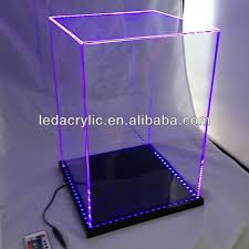 Customized LED Lighted Acrylic Display Case Electronic Cigarette
