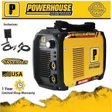 100 Powerhaus Powerhouse MMA 200Mini DC Inverter Welding Machine