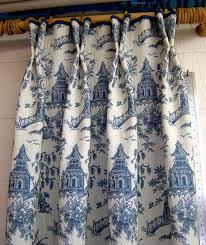 Allen Roth Curtains Bristol by Loading Zoom Superior Blue Toile Drapes 1 Labulledaria Com