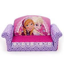 marshmallow furniture disney frozen flip open sofa home