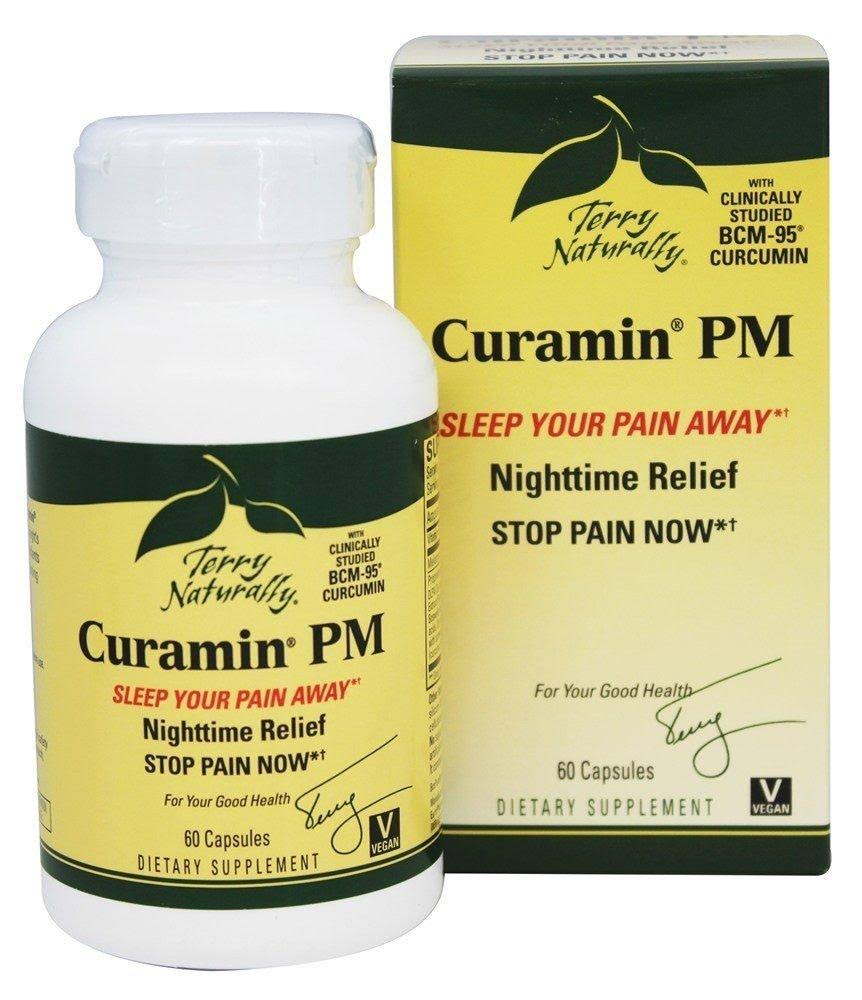 Terry Naturally Curamin PM Nighttime Pain Relief