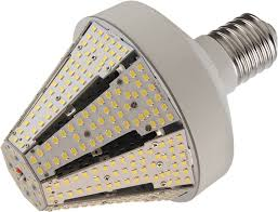 led conical post top l only 45 watts replaces up to 250 watts