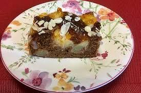 schoko pfirsich kuchen