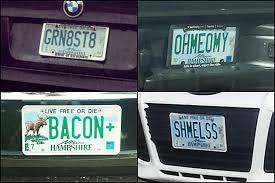 PHOTOS The Funniest New Hampshire License Plates