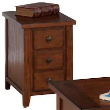 Excellent Ideas 3 Drawer End Table Creative Decoration Walnut