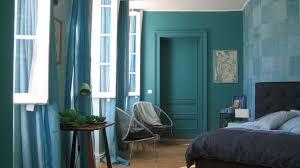 bleu chambre bleu déco peinture bleue bleu ciel bleu turquoise côté maison