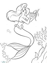 Coloriage Ariel Disney Tranquille 76 Coloriage De Disney My Blog