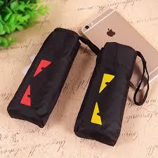 qualité mini parapluie de poche homme ensoleillé et pluvieux mini