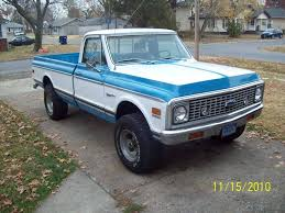 1972 Chevy Cheyenne 4x4 California Truck Factory A/c - The BangShift ...