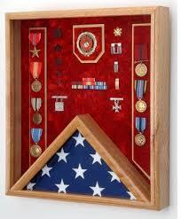 Marine Corps Flag Display Case Shadow Box