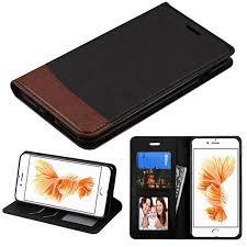 Insten for Apple iPhone 8 Plus iPhone 7 Plus Slim Fit Leather