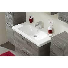 badezimmer waschtisch set 2 teilig sangallo grau quer waschtischlösung 82 x 56 cm