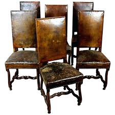 Distressed Leather Dining Chairs – Thefiling