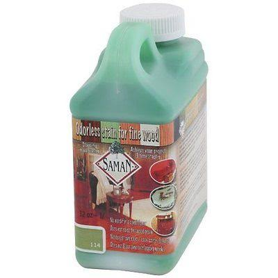 Saman Tew-114-32 Interior Water Based Stain For Fine Wood, Lime, 32 Ounce