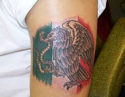 The 25 Best Mexican Flag Tattoos Ideas On Pinterest