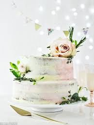 BBC Good Food Magazing Have Shared A Recipe For Its Easiest Ever Wedding Cake