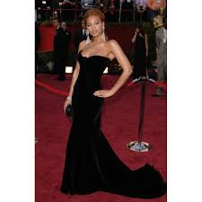 Evening Dresses Red Carpet by Knowles Back Evening Dress At 2005 Oscar Awards Red Carpet