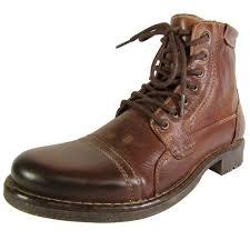 steve madden mens mallet lace up boot shoes ebay