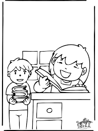 FunnyColoring Kids Coloring Pages School Library