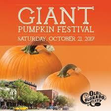 Pumpkin Patches Near Colorado Springs Co by Giant Pumpkin Festival Visit Colorado Springs Events Calendar