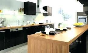 cuisine noir mat ikea cuisine noir laque cuisine noir laque et bois 45 dijon 27490135