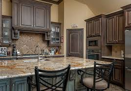 Dark Wood Cabinet Kitchens Colors Innovative Plain Dark Kitchen Cabinets Wood Intended For