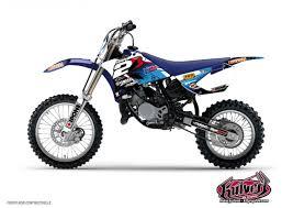 kit deco 85 yz kit déco moto cross yamaha 85 yz kutvek kit graphik