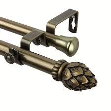 Umbra Curtain Rod Brass by Best 25 Brass Curtain Rods Ideas On Pinterest Drapery Rods