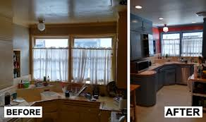 Before After Kitchen Face Lift