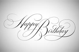 Happy Birthday Lettering Illustrations Creative Market