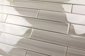 Subway Tiles For Backsplash by Gray Glass Subway Tile Gainsboro For Kitchen Backsplash Or