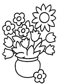 dessin pot de fleur 28 images motifs floraux fiches p 233