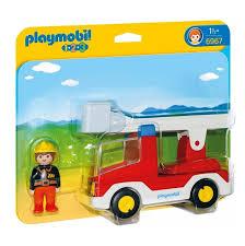 Playmobil 123 Ladder Unit Fire Truck 6967 - £10.00 - Hamleys For ...