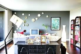 Dark Gray Accent Wall Grey Dining Room Interior Designs For Small
