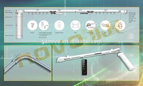 novo quality electric opening and closing curtain motor remote