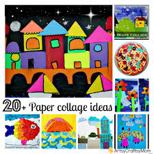 20 Simple Paper Collage Ideas For Kids