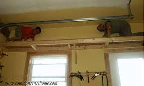 Build Wood Garage Shelf by Build Wood Garage Shelves Woodworking Creation Plans