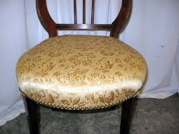Lyre Back Chairs Antique by Extra Nice 1920 U0027s Rd Lyre Harp Back Upholstered Chair For Sale