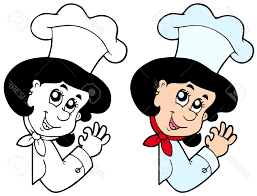 best free woman chef stock cook clipart images