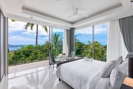 schlafzimmer mit ausblick der extraklasse immobilien