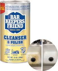 Bar Keepers Friend cleansers