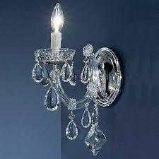 modern silver single fancy wall light fixture wall mounted