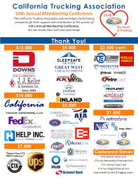 Event - California Trucking Association Bannertrucks11jpg Pinole Valley Trucking Competitors Revenue And Employees Owler Allied Membership California Association 2015 Annual Directory Aths Central Chapter Joins Group Fighting Human Trafficking Faulkner Pushing It Devine Intermodal Arkansas Honoring Military Veterans Trucker News